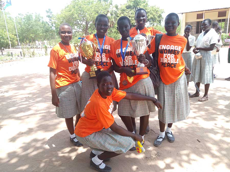Loreto Girls Win Essay Contest on Women's Contribution to Peace in South Sudan