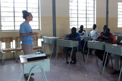Nicky Hess teaching