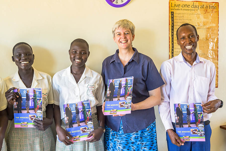 School magazine launched 2